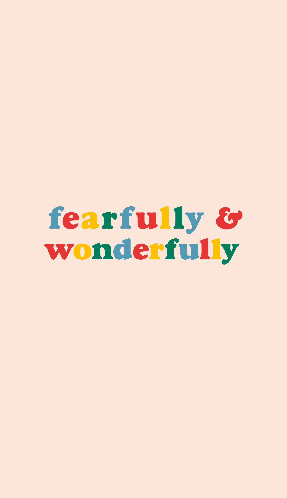 Psalm 138:14. Redbubble.com/people/glowingly wallpaper ...