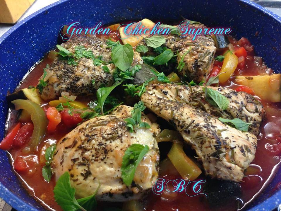 Garden chicken supreme
