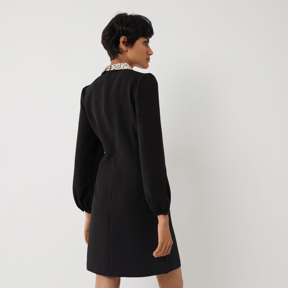 Spot Collar Mini Shift Dress Warehouse Summer Shift Dress Mini Shift Dress Spirit Clothing [ 1000 x 1000 Pixel ]