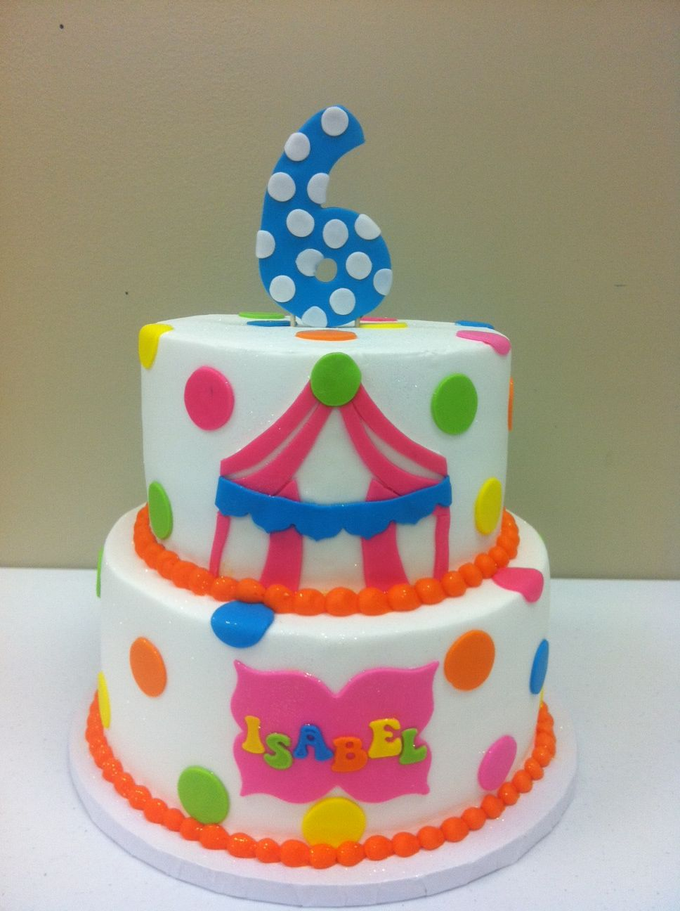 Brilliant Carnival Cake Allthingscakeshop Com Tulsa Ok Themed Birthday Personalised Birthday Cards Veneteletsinfo