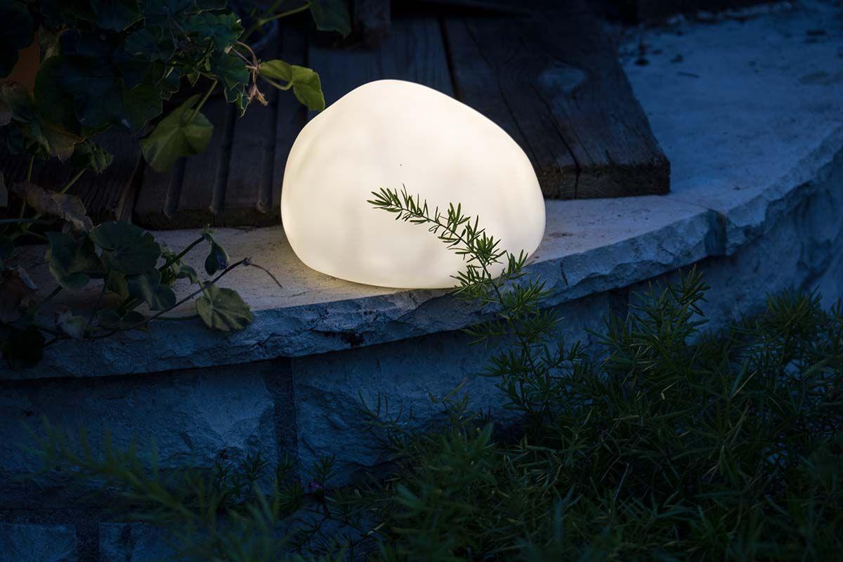 Solarstein 17x10 5 Cm Solar Lampe Gartendekoration Dekoration