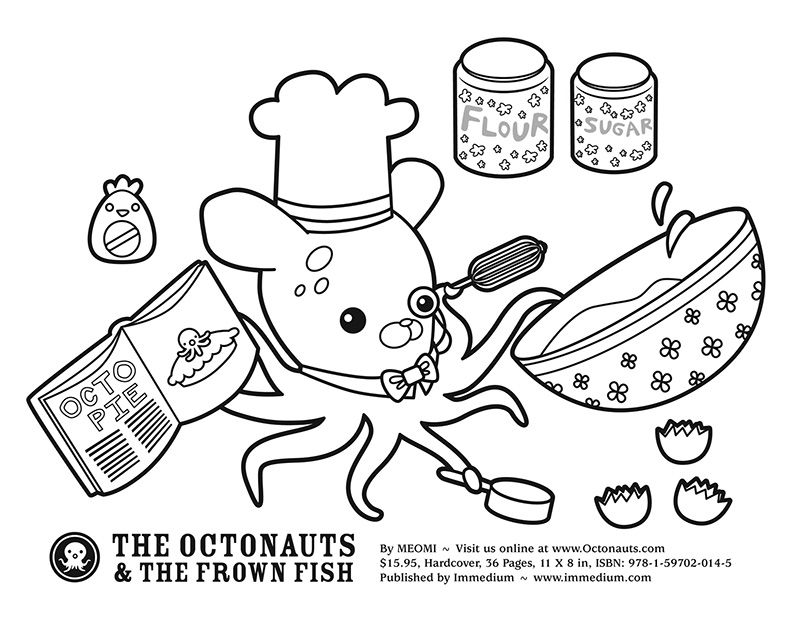 Octonauts Inkling Pie / Coloring Pages | Nurie - Kawaii ...