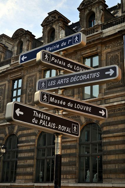 Rue Rivoli, Paris. - Pick a road, any road.