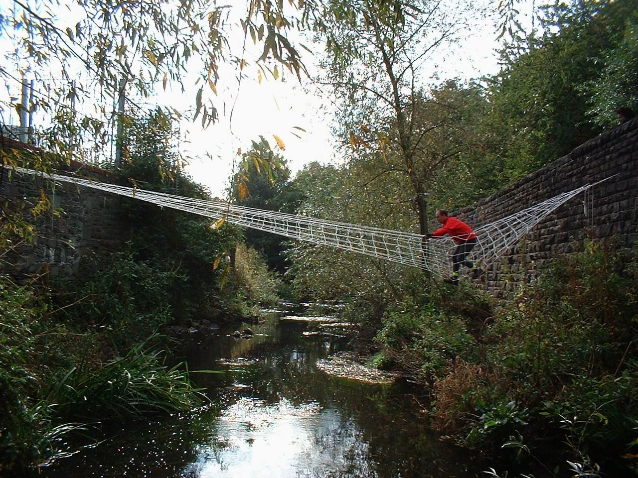 Pin By Phyllis Muller On Garden Paths Rope Bridge