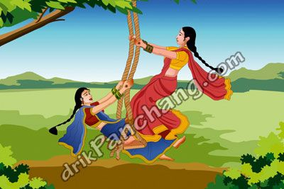 2015 Hariyali Teej Sindhara Teej Vrat Date And Time For Woodbridge New Jersey United States Festivals Of India Construction Paper Crafts Indian Festivals