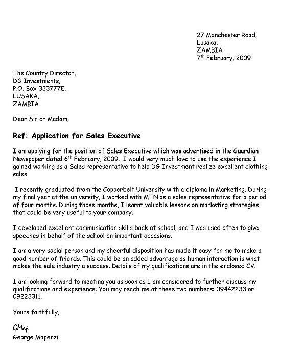 Cover Letter Template Yahoo Application cover letter