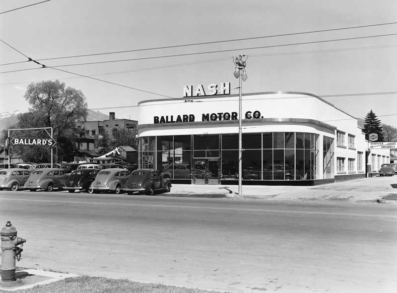 Ballard Motor Company New Building April 17 1940 This Sleek