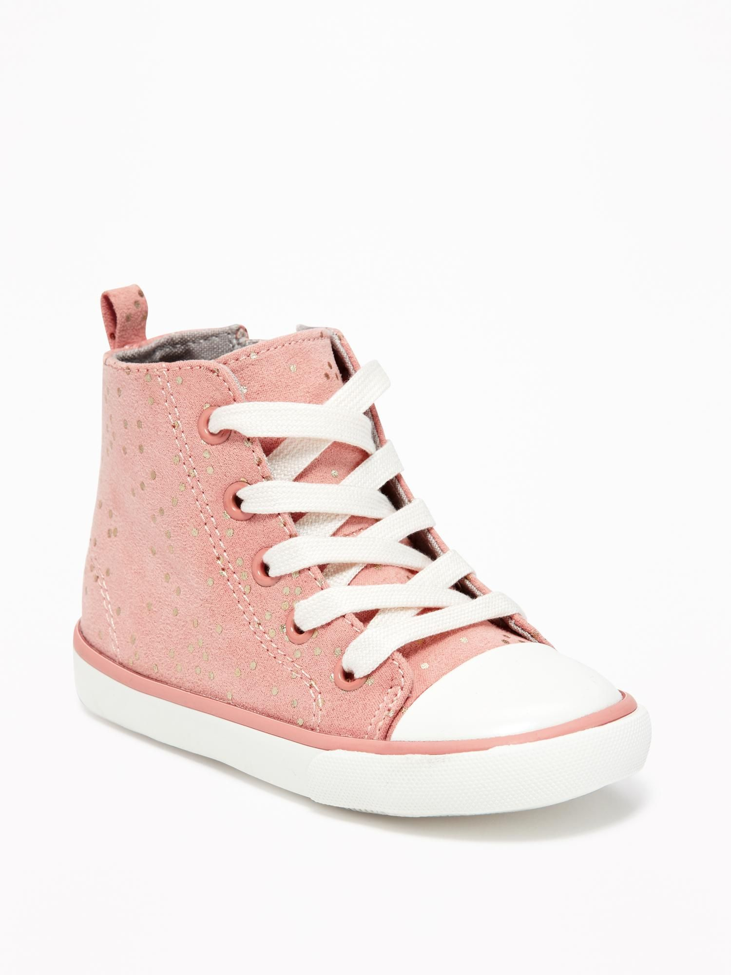 Sparkle Patterned High Tops For Toddler Old Navy