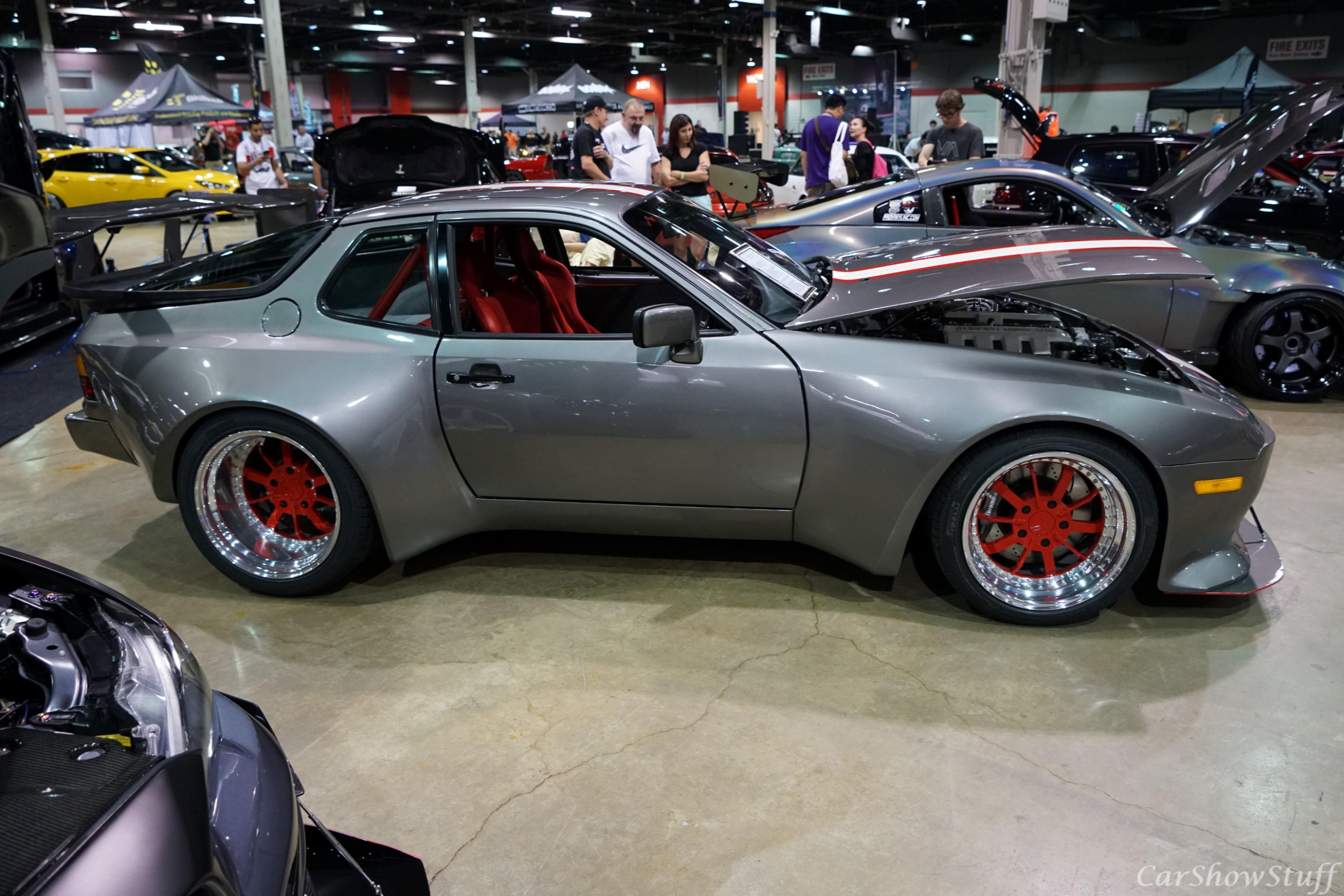 Highly Modified Wide Body Porsche 944 With LS3 Engine Swap