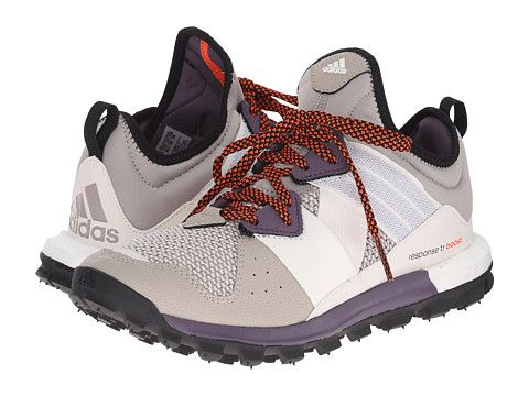 Womens Shoes adidas Outdoor Response Trail Boost Light Brown/Ash Purple/Solar Red