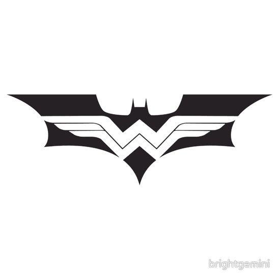 0b3a1495318c WonderBat | My Style | Batman wonder woman, Batman tattoo, Wonder woman