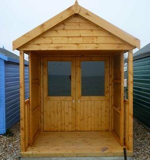 Calshot beach hut: enjoy the coastal views from your own bespoke beach hut
