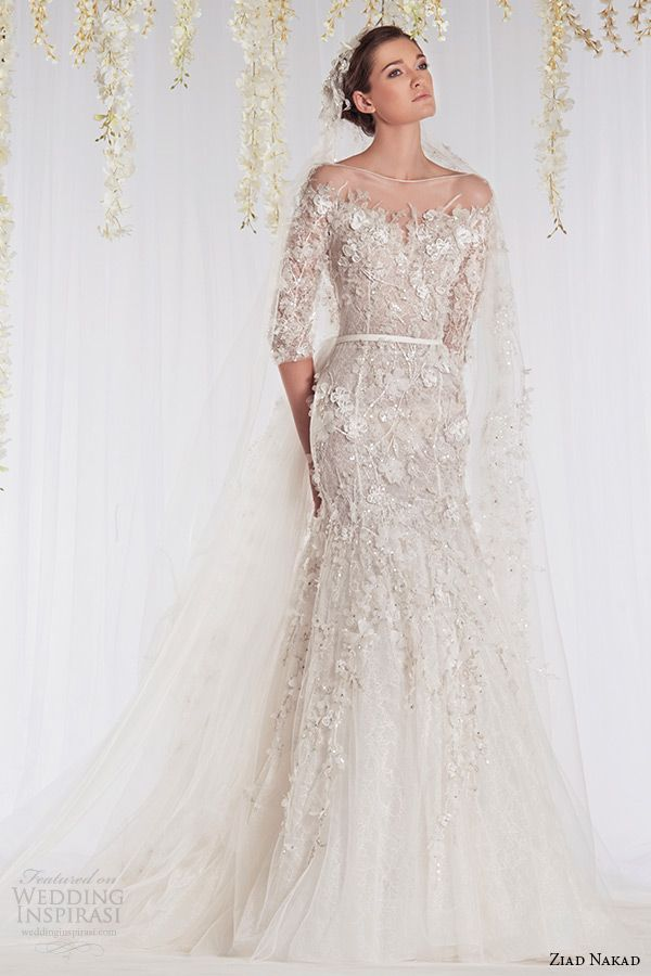 Ziad Nakad 2015 Wedding Dresses The White Realm Bridal Collection Wedding Inspirasi Wedding Dresses Beautiful Wedding Gowns Beautiful Wedding Dresses