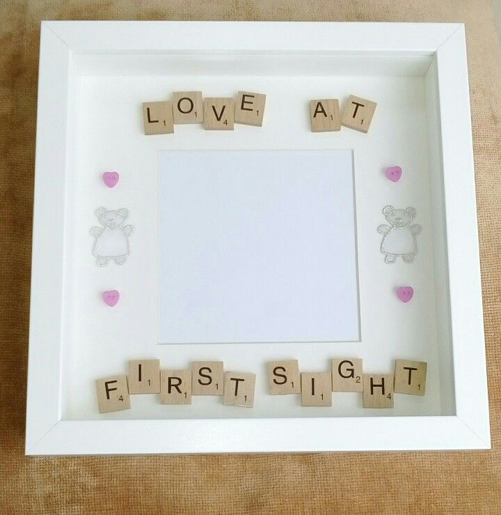 Love At First Sight Frame A Scan Is Your Babys First Portrait And
