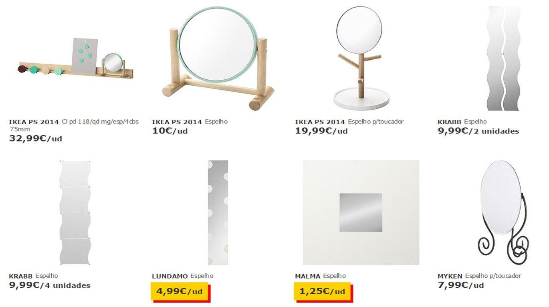 IKEA Family: 20% em vale IKEA em todos os espelhos