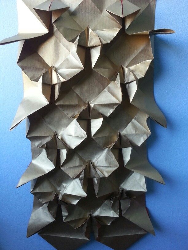 An Origami Wall Hanging I Made And Designed