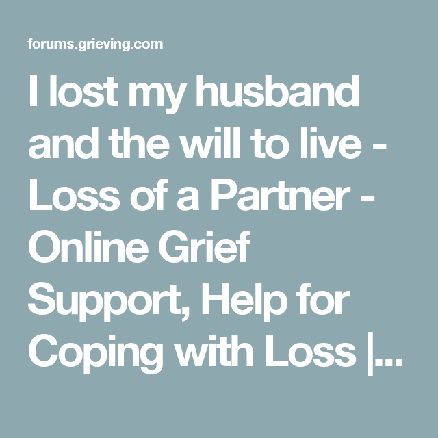 how to support grieving husband