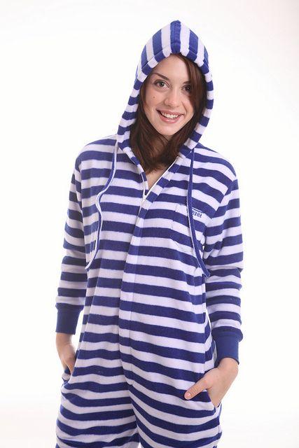 822a5fb117310e Fleece Onesies for Adults Nautical Design from Funzee www.funzee.co ...