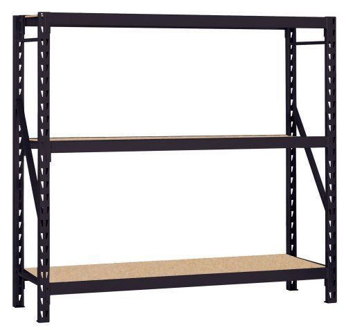 Muscle Rack 7224prb 72 Inch Wide By 24 Inch Deep By 72 Inch High Heavy Duty Rack Black By Edsal 314 29 From The Manufacturer Musc Storage Rack