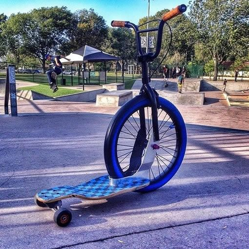 Sbyke Is A Bike Skateboard And Scooter Rolled Into One With