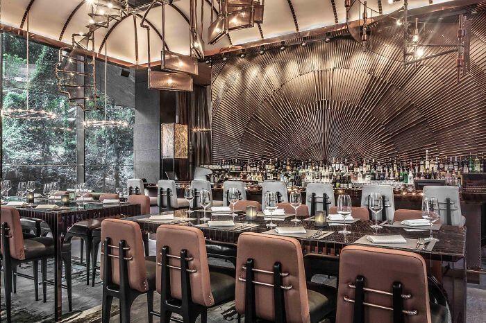 Bars et restaurants où aller pour leur déco restaurant design