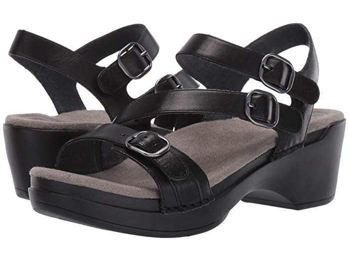 Dansko Sacha Zappos Com Dansko Black Sandals Women Shoes
