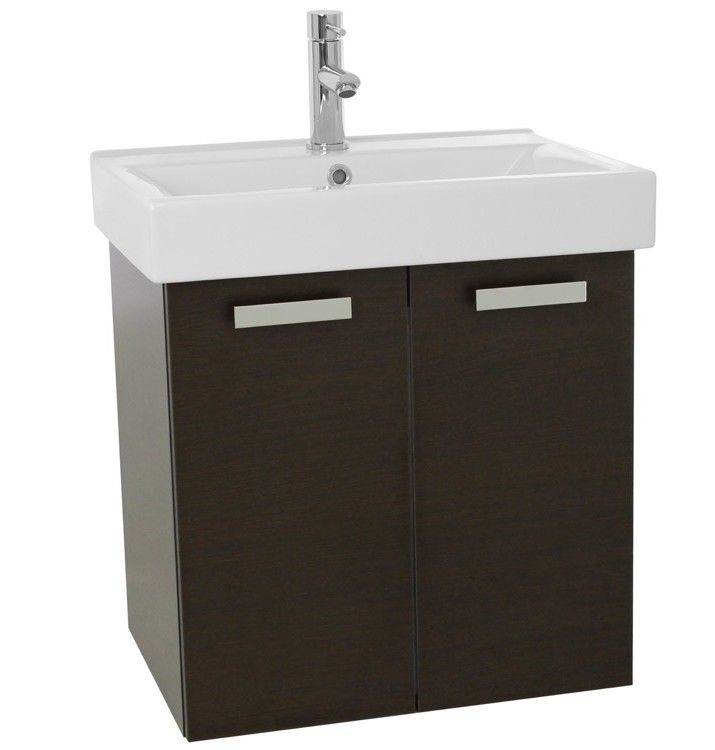 Cubical 24 Single Wall Mount Bathroom Vanity Set Products Single Bathroom Vanity Bathroom Sink Vanity Bathroom