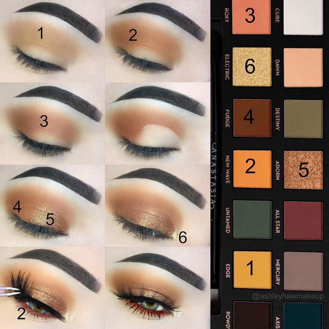 Beautiful Orange Eye Makeup Look Eyeshadow Makeup Makeupartist