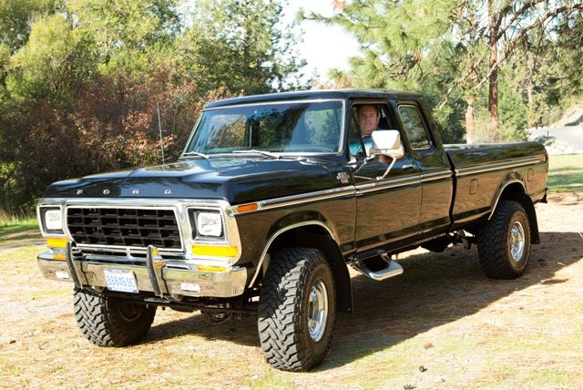 1979 Ford 1500 4 Wheel Drive Tractor : Tim mcavoy s ford f ranger xlt supercab trailer