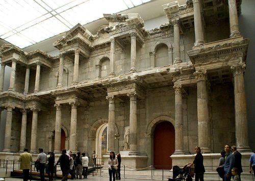 Berlin Pergamonmuseum Markttor Von Milet Turkei Market Gate Of Miletus Turkey Ancient Architecture Vertical City Roman Architecture