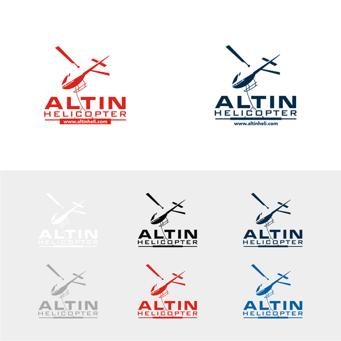 helicopter logo for altin helicopter designers choose construction