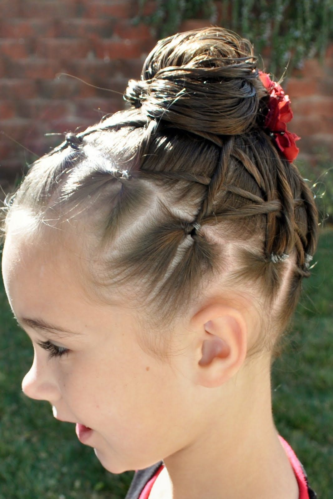 Kid hairstyle Kids hairstyles, Competition hair, Hair styles