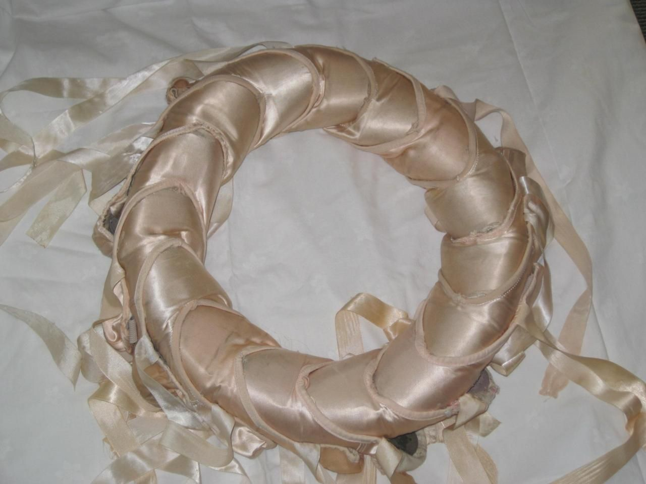 Pointe Shoe Wreath Would Have To Do It With Old Pointe