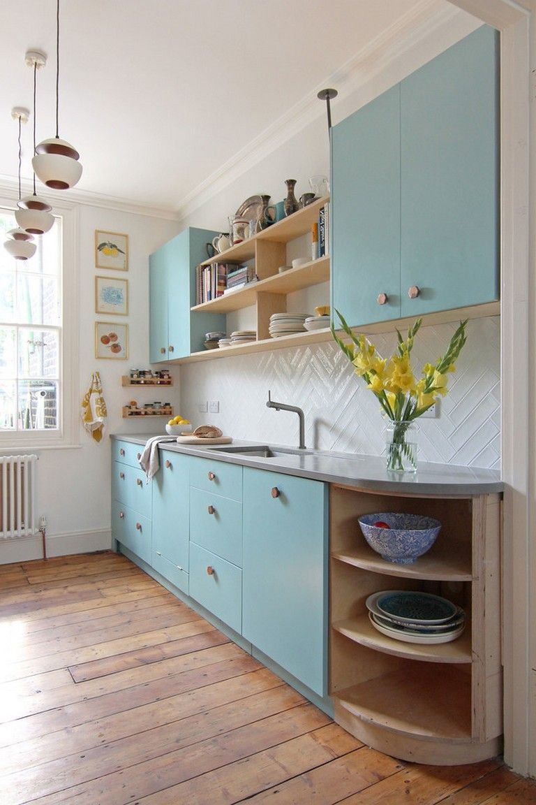 9+ Best Small Kitchen Ideas And Designs For 9   Scandinavian ...