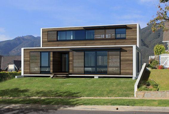 Effervescence prefabrique maison conteneur container art house prefab homes prefab for Prefab maison