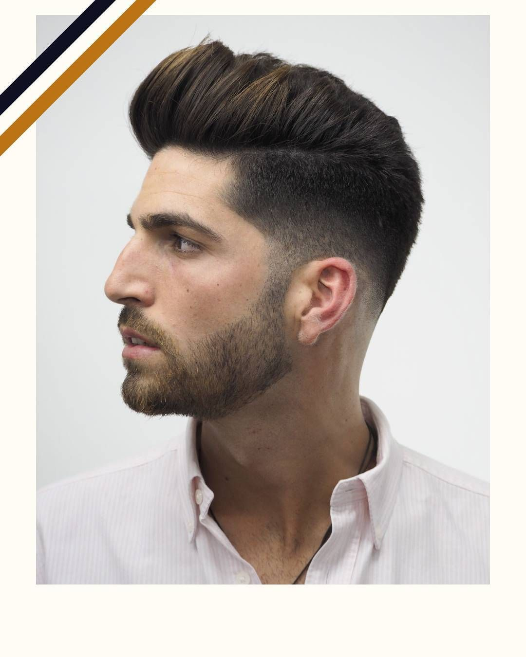 Classic Pompadour hairstyles | Classic Businessman Hairstyles ...