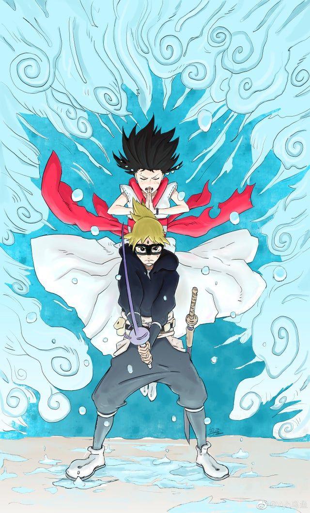Hachimaru & Ann Samurai8 in 2020 Samurai art, Anime