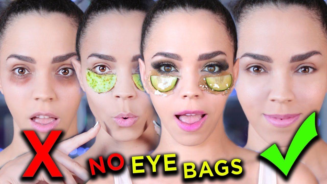 HOW TO DIY Eye Masks to Get Rid of Dark Circles & Bags