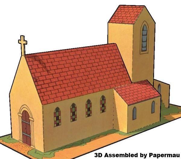 PAPERMAU: European Style Church