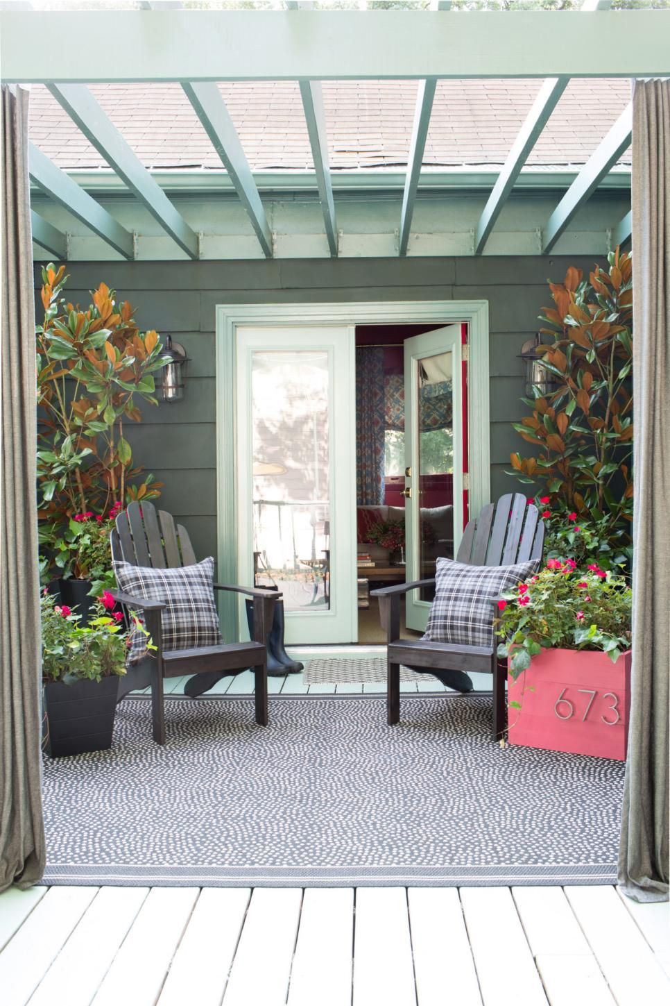 Get your porch or deck ready for fall guests with these simple updates and decorating ideas.