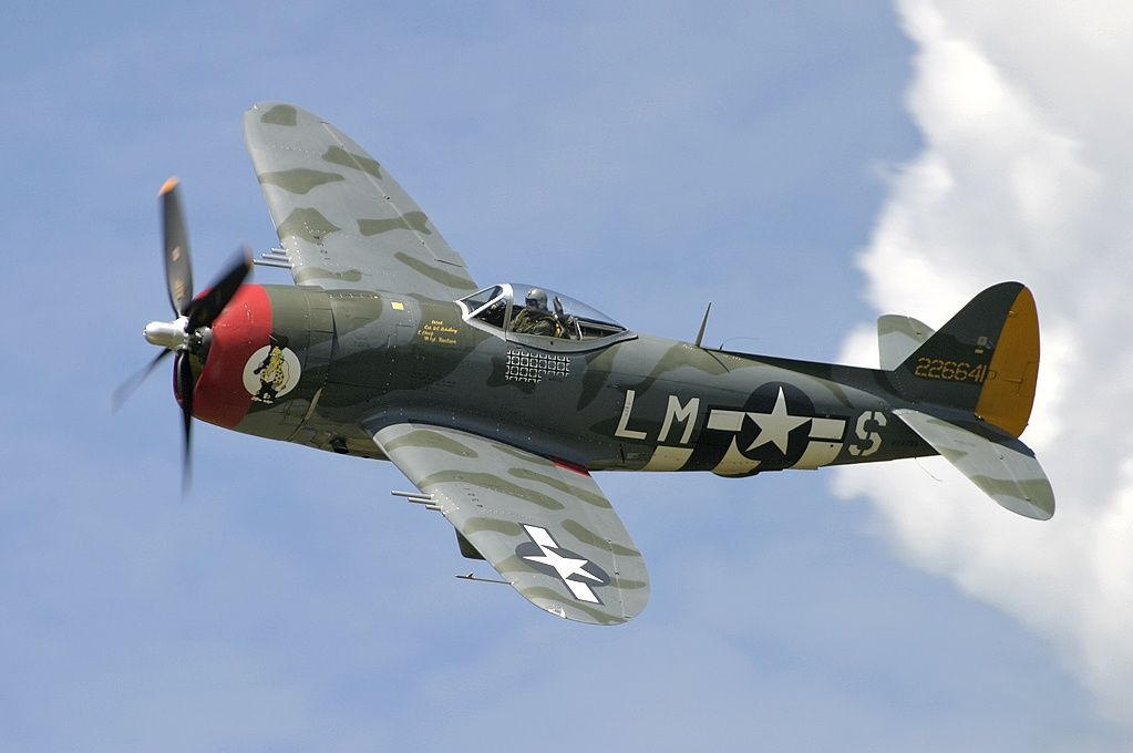 Republic P 47 Thunderbolt Tail No 226641 Us Military Aircraft Wwii Fighter Planes P 47 Thunderbolt