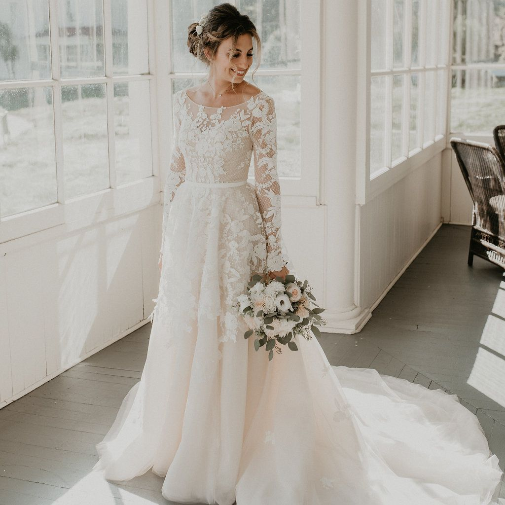 Dresses As Unique And Beautiful As The Brides Who Wear Them Custom Wedding Dress Wedding Dress Long Sleeve Dream Wedding Dresses