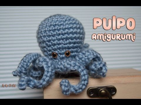 Pulpo Amigurumi | Pulpos, Ganchillo y Crochet en español