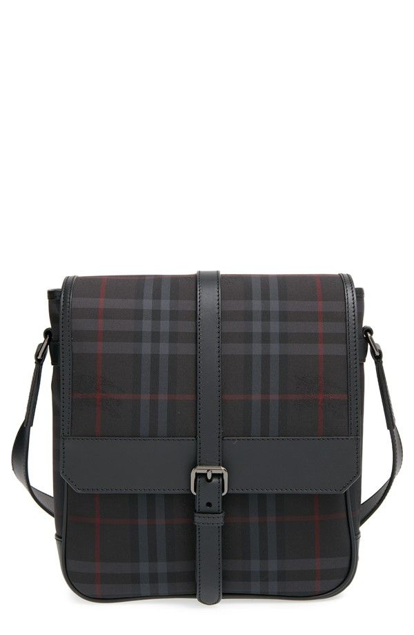 Burberry - 'Bryett' Horseferry Check Crossbody Bag