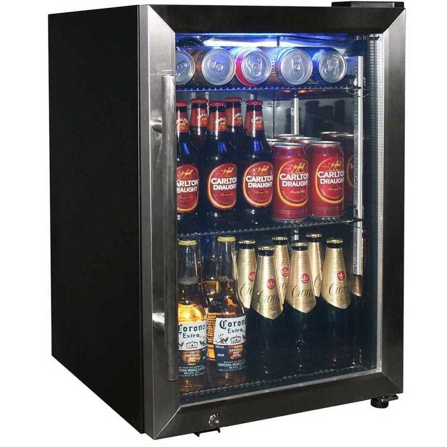 Lovely Home Bar Refrigerator Glass Door