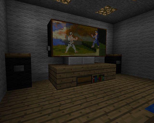 Виды телевизора в майнкрафт