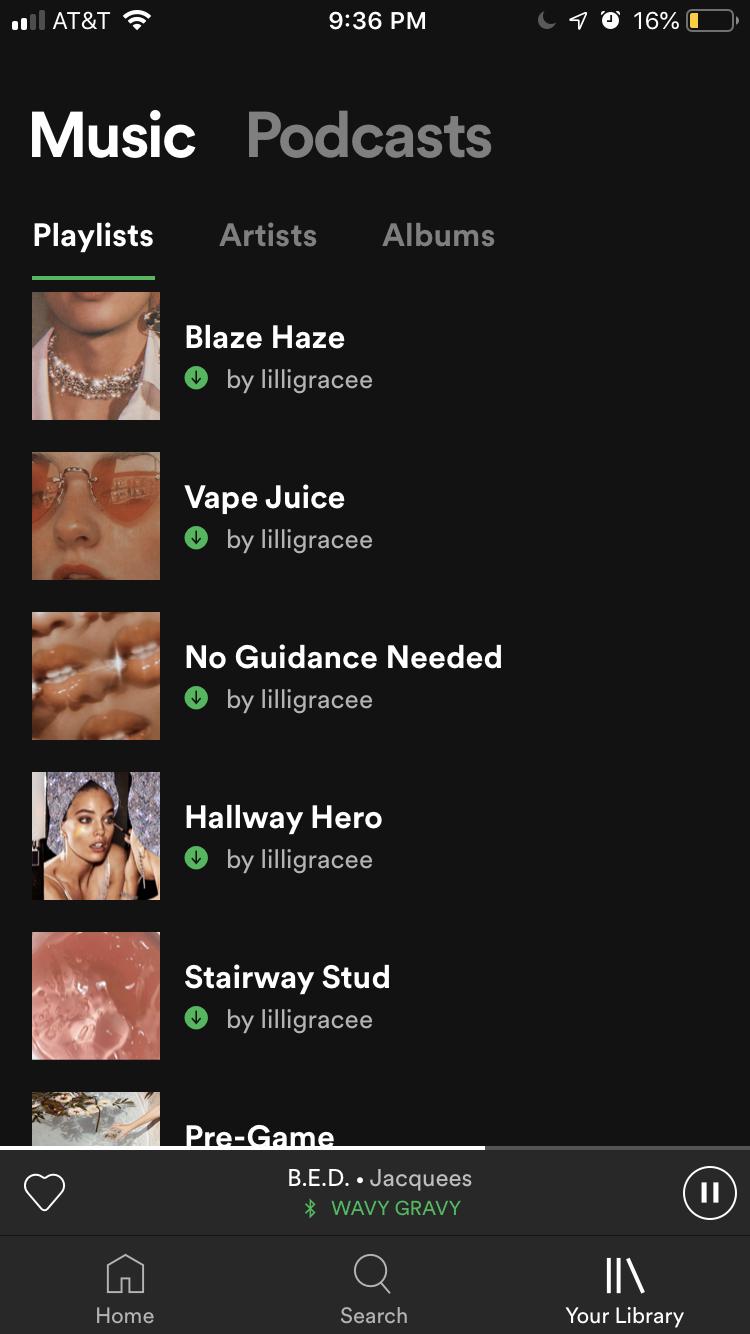 Aesthetic Tumblr Playlist Names