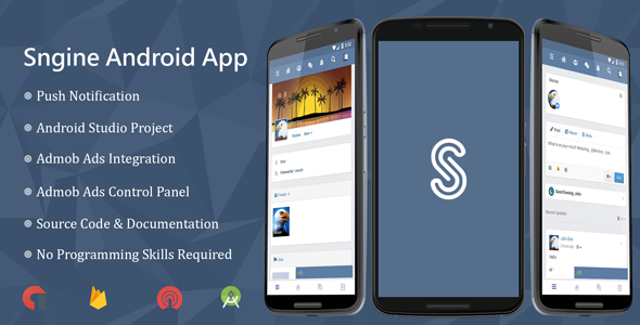 Sngine Android Application Nulled | Nulled Wordpress Themes
