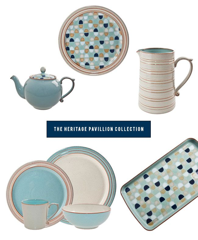 China plates  sc 1 st  Pinterest & Beautiful Timeless Tableware from Denby | Turquoise pattern ...