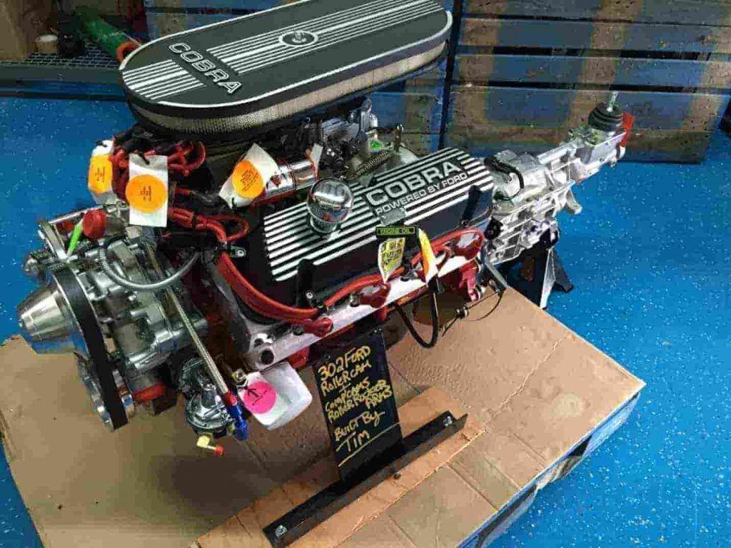 All Aluminum 427 V8 Ford Gt40 Ford Motor Ford Gt
